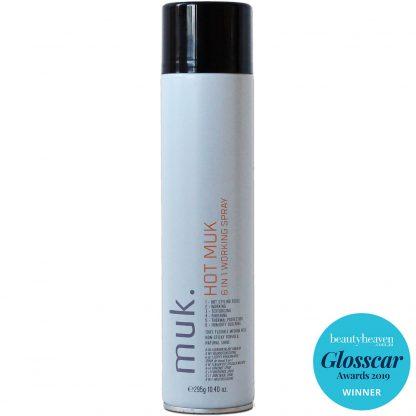 Suchý lak na vlasy s tepelnou ochranou HOT muk 6 v 1